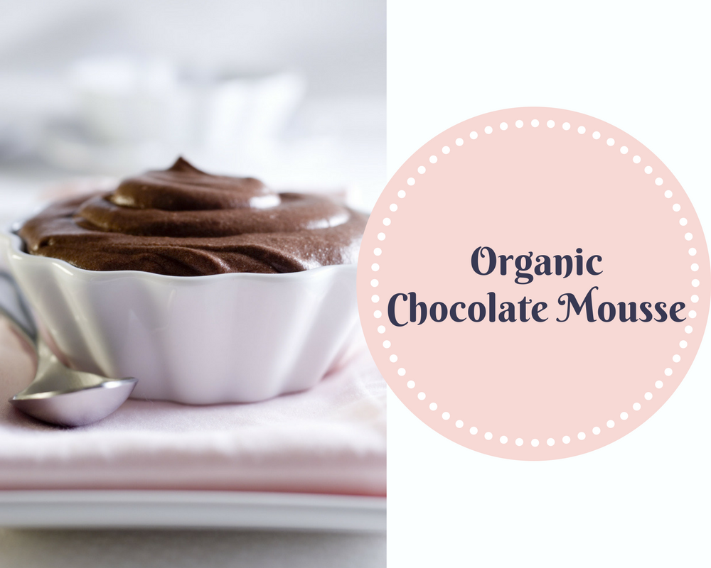 ORGANIC CHOCOLATE MOUSSE