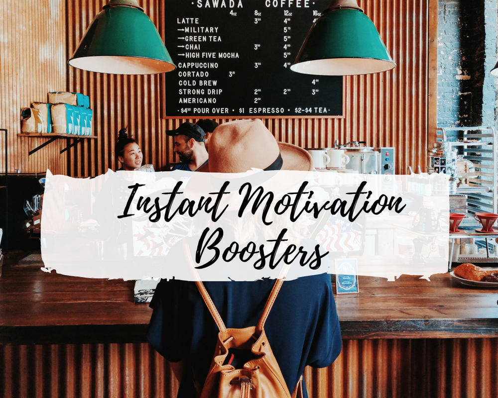 INSTANT MOTIVATION BOOSTERS