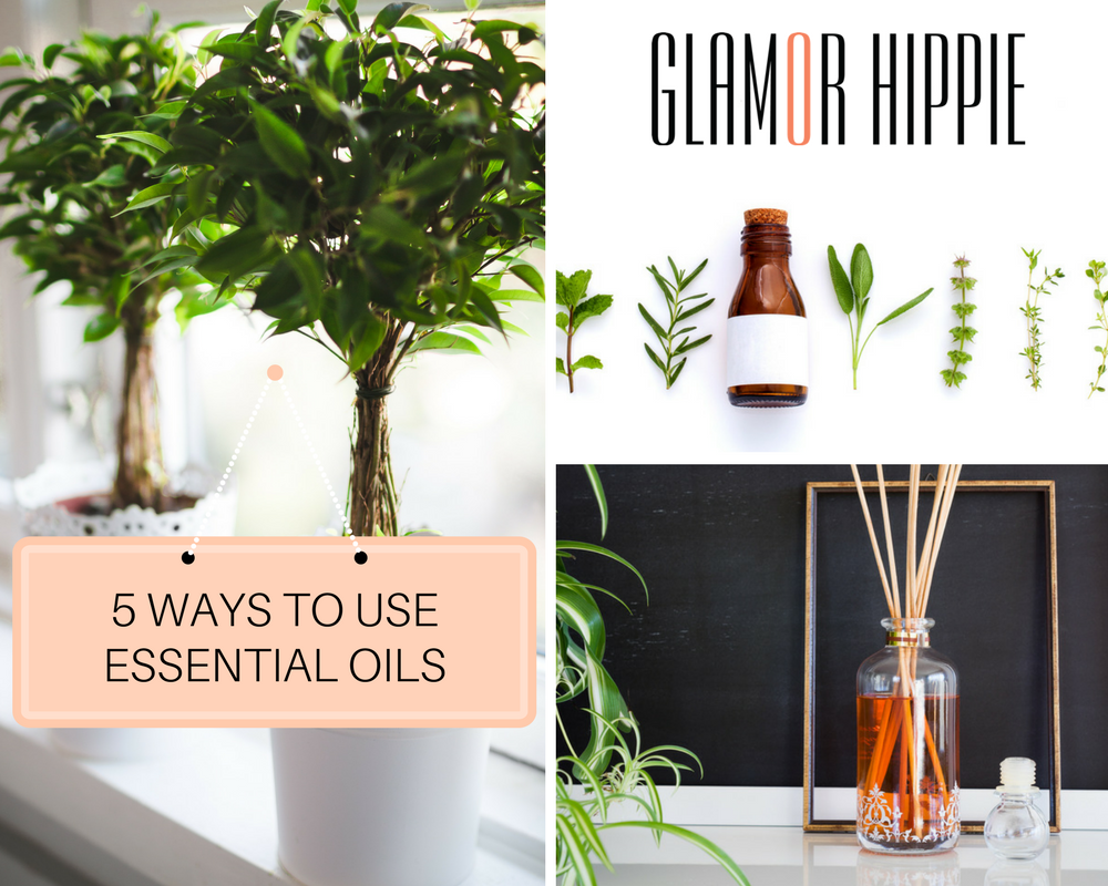 5 WAYS TO USE ESSENTIAL OILS