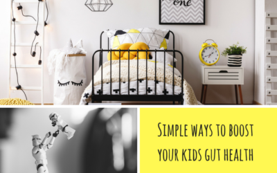 SIMPLE WAYS TO IMPROVE YOUR KIDS GUT HEALTH
