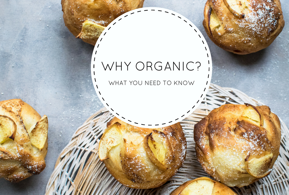 WHY ORGANIC? WHAT YOU NEED TO KNOW