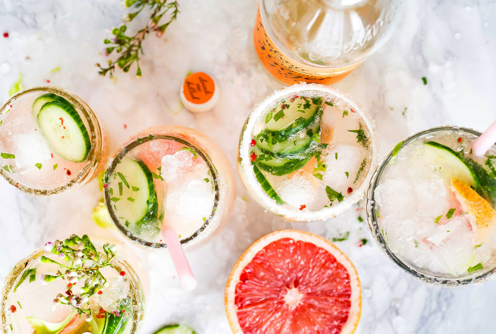 SUMMER COCKTAILS WITH A HEALTHY TWIST