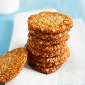 Organic Anzac Biscuits Glamor Hippie