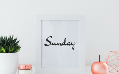 Six things to do this Sunday to make your life less Chaotic Glamor Hippie